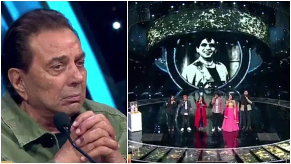 Dharmendra Gets Emotional On Indian Indol 12 Episode   Here's Why