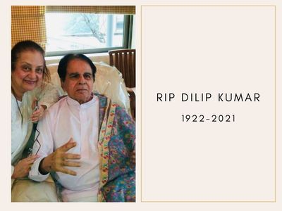 Dilip Kumar's mortal remains taken home | Funeral at 5PM