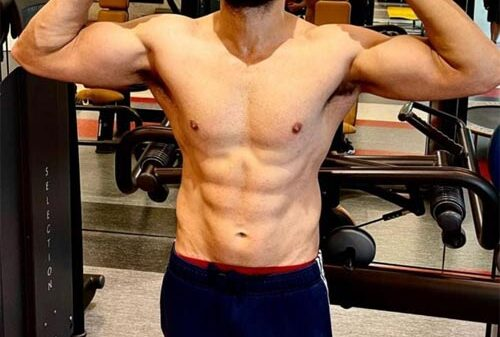Emraan Hashmi Goes Shirtless To Unveils his physical transformation ahead of 'Tiger 3' shoot | check out his new look