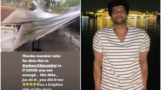 Kushal Tandon suffers a loss of Rs 20-25 lakhs in damage to his restaurant