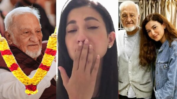 Gauahar Khan misses her father | Sends a teary-eyed message to fans