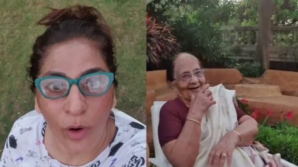 Archana Puran Singh spreads a word of spending quality time with ageing parents   Shares a glimpse of their Garden Gupshup