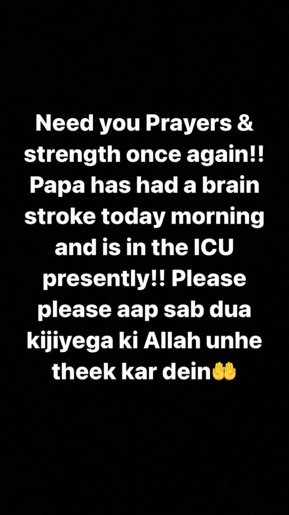 Sasural Simar Ka Fame Shoaib Ibrahim's Father Gets Admitted To ICU After Suffering Brain Stroke