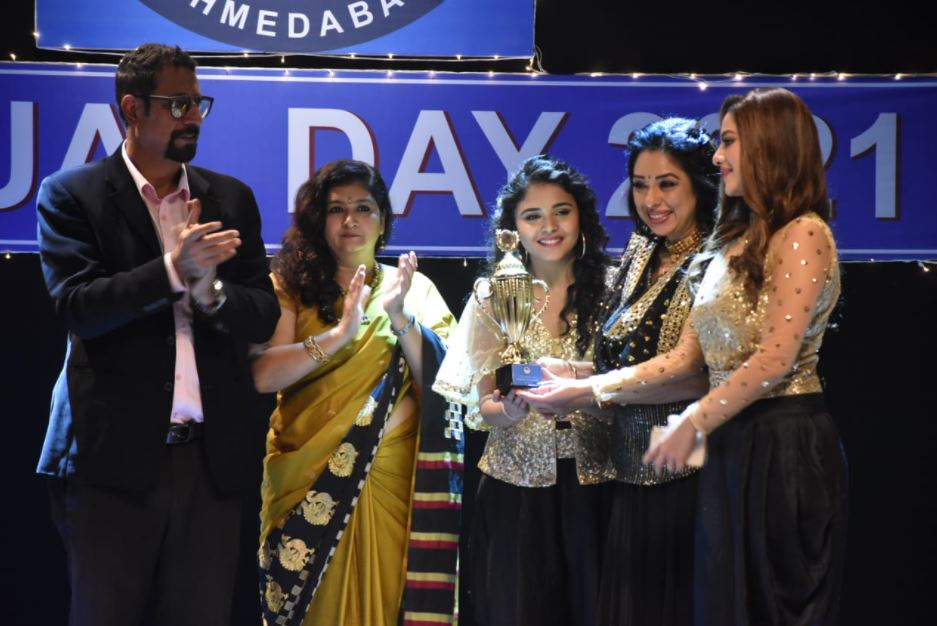 Pakhi & Anupamaa wins the dance competition