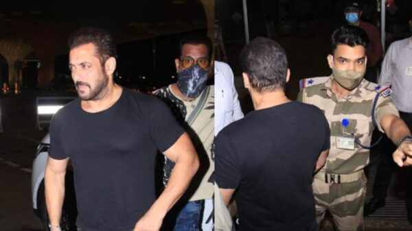 officer who stopped Salman Khan at the airport