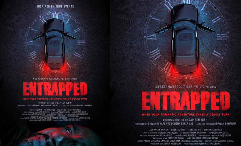 Adhyayan Suman and Sheetal Kale to star in Entrapped;  Crew shares their experience from the film