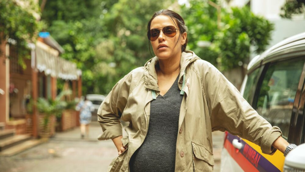 Neha Dhupia plays pregnant cop For Her Upcoming Thriller 'A Thursday'; Picture Inside
