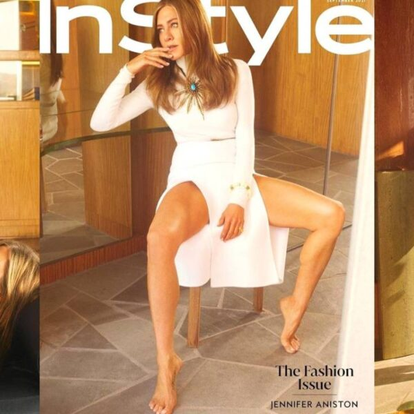 Jennifer Aniston for the cover of InStyle