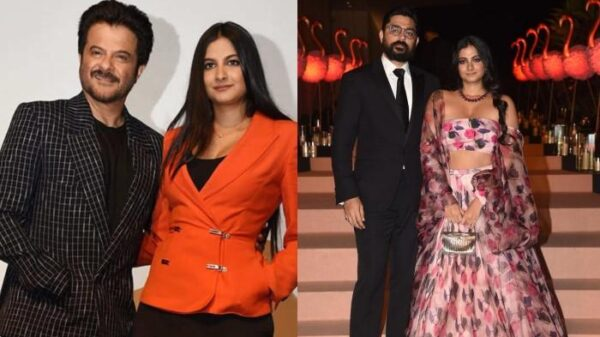 Anil Kapoor hosted a party for daughter Rhea Kapoor and son-in-law Karan Boolani