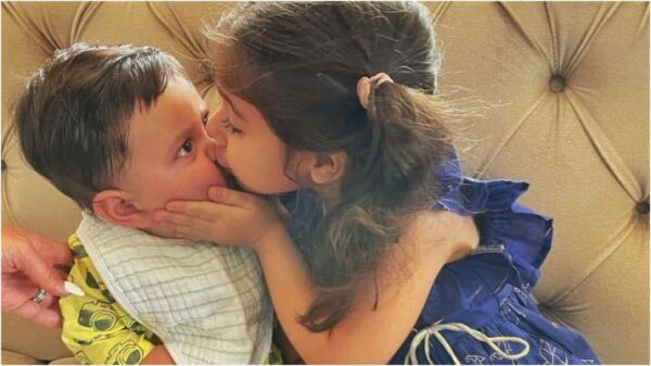 Jeh Ali Khan Gets His First Kiss; Pic Inside