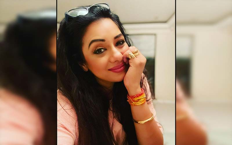 Anupamaa actress Rupali Ganguly shares a fun video with adorable expressions from her vacay