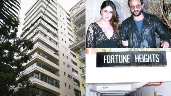 Saif Ali Khan rented out his old condo for ₹3.5 lakh per month