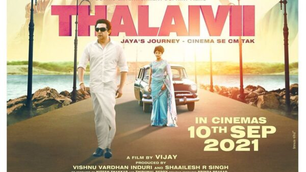 Kangana Ranaut's Thalaivi To release in theatre on September 10