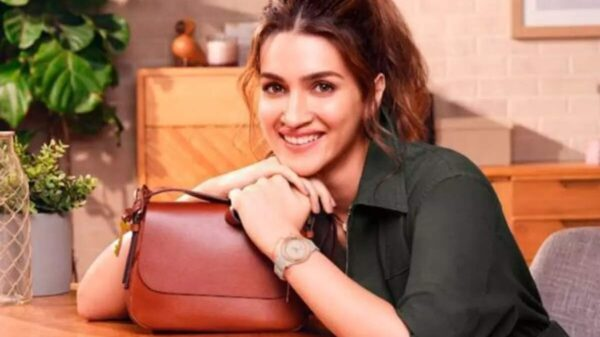 Kriti Sanon becomes the new celebrity brand ambassador of Fossil in India