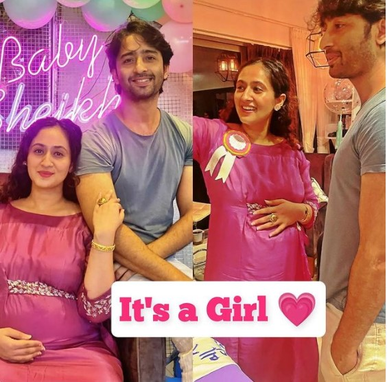 Shaheer Sheikh and Ruchikaa Kapoor are now proud parents to a baby girl