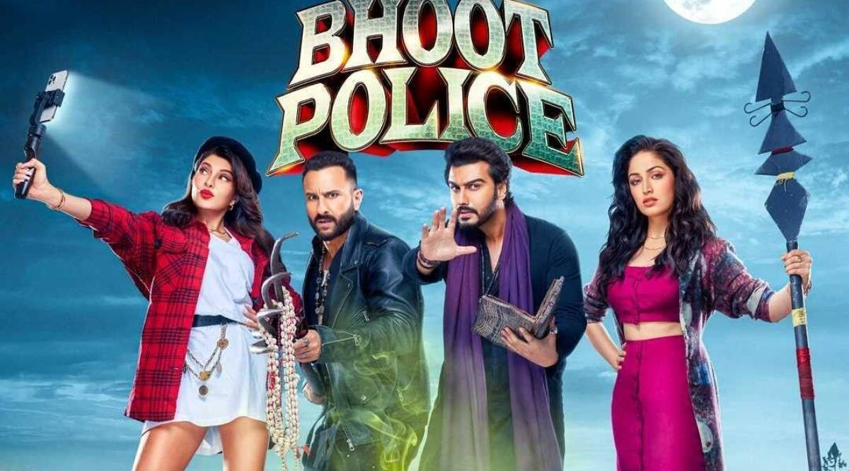 Yami Gautam Flaunts in a breathtaking red flowy gown for the song Mujhe Pyaar Pyaar Hai From Bhoot Police