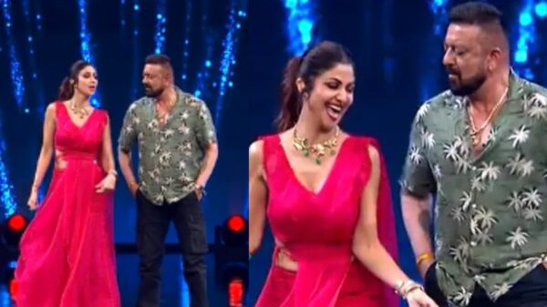 Shilpa Shetty To groove with Sanjay Dutt on song 'Aalia Re Ladki Mast Mast in Super Dancer Chapter 4
